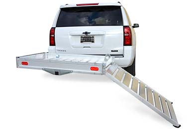 Ford Excursion Erickson Hitch Hauler Wheelchair/Scooter Carrier with Ramp