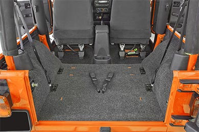 BedRug Jeep Cargo Liner Kit