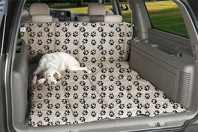 Chevy Suburban Canine Covers Crypton Paw Print Cargo Liner Dog Bed