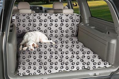 canine covers crypton paw print cargo liner dog bed