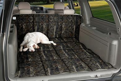 Chevy Tahoe Canine Covers True Timber Camo Cargo Liner Dog Bed