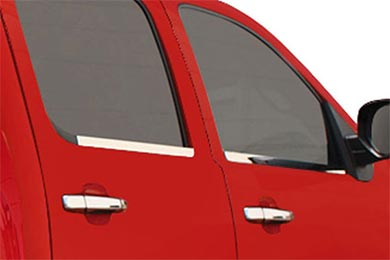 Chevy Avalanche Bully Stainless Steel Window Sill Trim