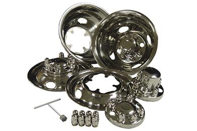 Ford F-450/550 Go Industries Stainless Dually Wheel Simulators