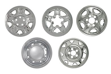 Chevy Silverado Pilot Chrome Imposter Wheel Skins