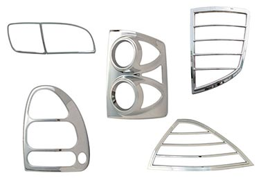 Toyota Tundra Pilot Chrome Tail Light Bezel Covers