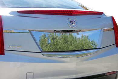 Lincoln MKS ProZ Chrome License Plate Trim