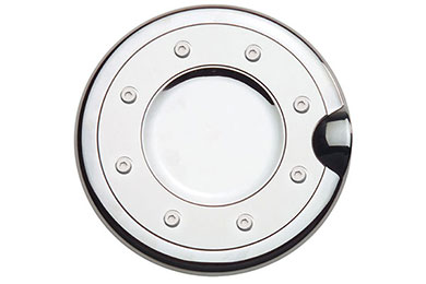 putco chrome fuel door