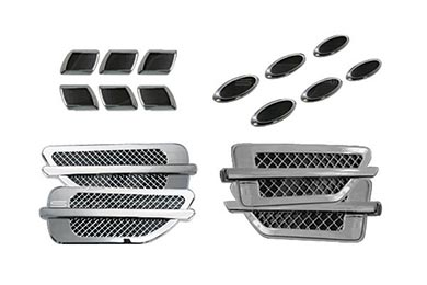 Ford F-250 Trim Illusions Chrome Fender Vents