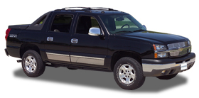 putco chrome package 02-06 chevy avalanche 02-06 405016