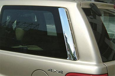 Wellstar Chrome Pillar Post Trim