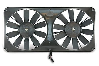 Honda Odyssey Flex-a-lite Compact Dual Universal Electric Cooling Fans