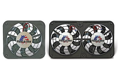 Plymouth GTX Flex-a-lite Low Profile S-blade Universal Electric Cooling Fans