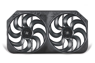 Audi 4000 Flex-a-lite Monster Dual Universal Electric Cooling Fans