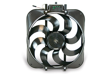 Audi 4000 Flex-a-lite Black Magic S-blade Universal Electric Cooling Fans