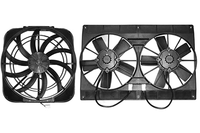Dodge Ram Maradyne Mach Series Electric Cooling Fans