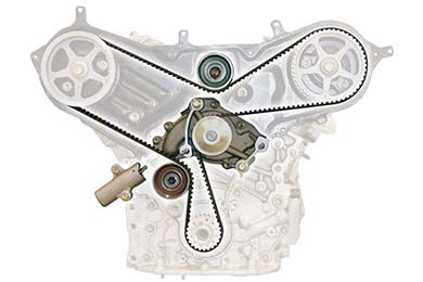 US Motor Works Timing Belt Kit with Water Pump