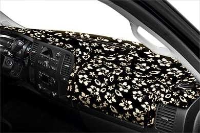 Honda Civic Coverking Velour Hawaiian Print Dash Cover