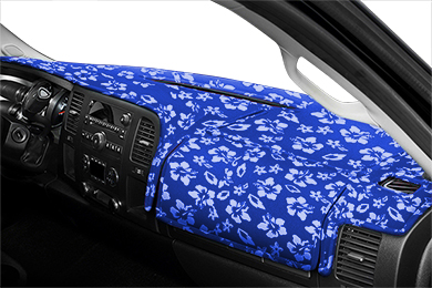 Chevy Corvette Coverking Velour Hawaiian Print Dash Cover