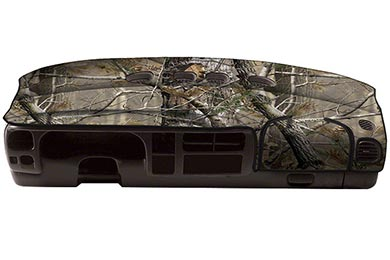 Honda Civic Coverking RealTree Camo Velour Dashboard Cover