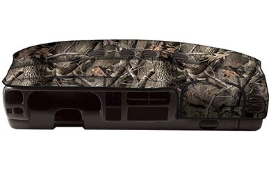 coverking realtree camo velour dashboard cover