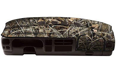 Toyota Camry Coverking RealTree Camo Velour Dashboard Cover