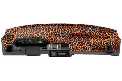 Nissan Titan Coverking Velour Animal Print Dash Cover
