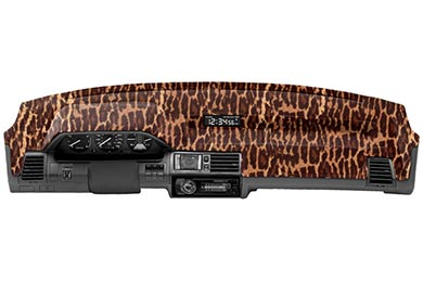 Chevy Tahoe Coverking Velour Animal Print Dash Cover