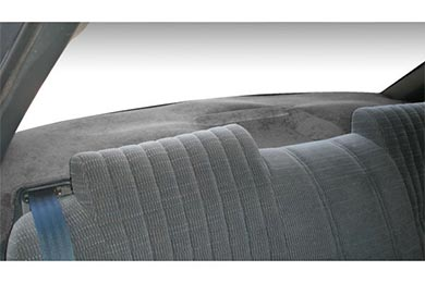Toyota Corolla Dash Designs Brushed Suede Rear Deck Covers