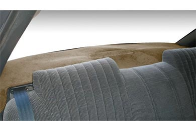 Dash Designs Brushed Suede Rear Deck Covers
