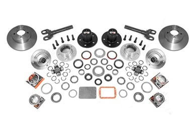 Alloy USA Front Axle Manual Locking Hub Conversion Kits