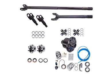 alloy usa front grande axle shaft conversion kits with arb air locker