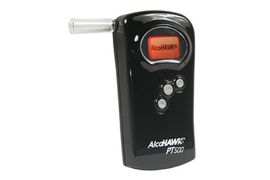 Dodge Charger AlcoHAWK PT500 Breathalyzer