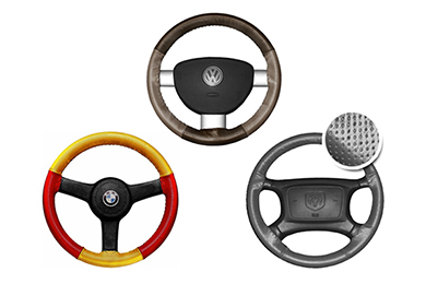 Mercedes-Benz 420 Wheelskins EuroPerf Perforated Leather Steering Wheel Covers