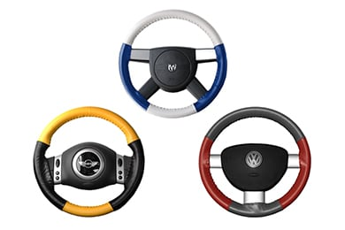 Volvo XC70 Wheelskins EuroTone Leather Steering Wheel Covers