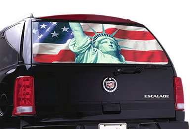 Ford F-150 Window Canvas Flag Window Graphics