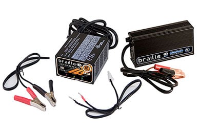 Chrysler Crossfire Braille Battery Chargers