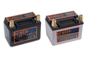 Braille No-Weight Batteries