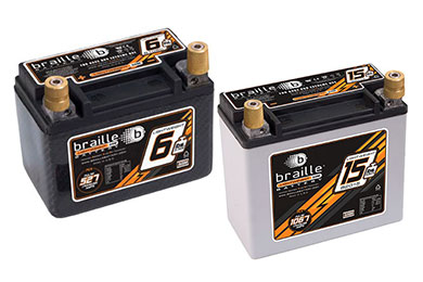 Chevy Corvette Braille No-Weight Batteries