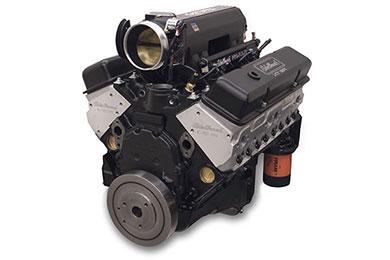 edelbrock hi torq 383 pro flo xt efi crate engine  2