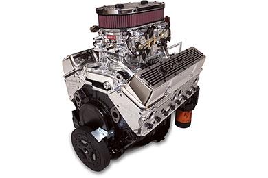 edelbrock performer dual quad 315 crate engine  2