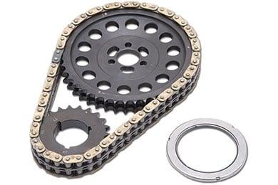 edelbrock rpm link adjustable true roller timing chain set