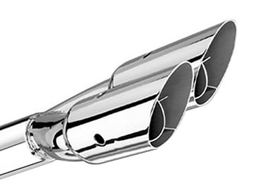 Chrysler Cirrus Borla Dual Round Angle-Cut Intercooled Exhaust Tip