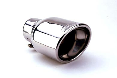 Toyota Yaris Borla Oval Rolled Angle-Cut Exhaust Tip