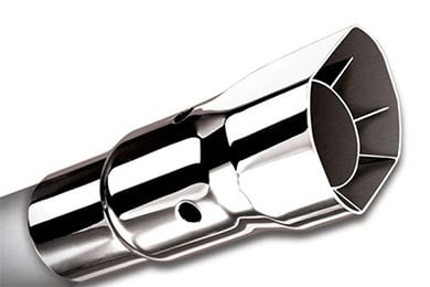 Dodge Charger Borla Square Angle-Cut Intercooled Exhaust Tip