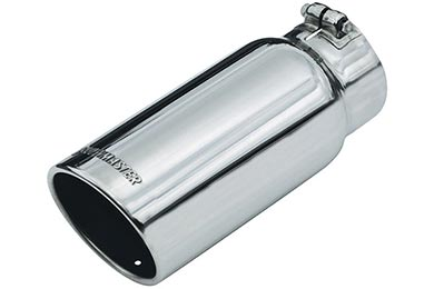 Ford Explorer Flowmaster Round Rolled Angle-Cut Exhaust Tip
