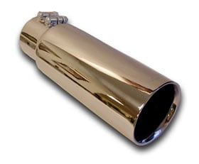 Mitsubishi Lancer Gibson Intercooled Dual Wall Exhaust Tip