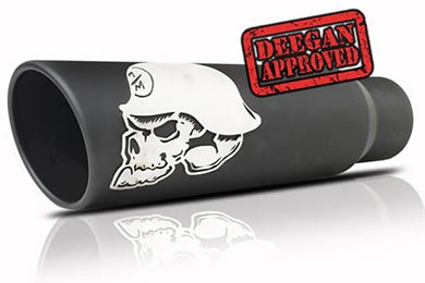 Nissan Titan Gibson Metal Mulisha Exhaust Tips