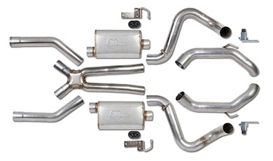 Chevy Corvette Hooker Exhaust Systems
