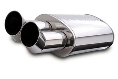 BMW 6-Series Magnaflow Universal Mufflers - Street Series Stainless with Tips