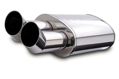 Plymouth Satellite Magnaflow Universal Mufflers - Street Series Stainless with Tips